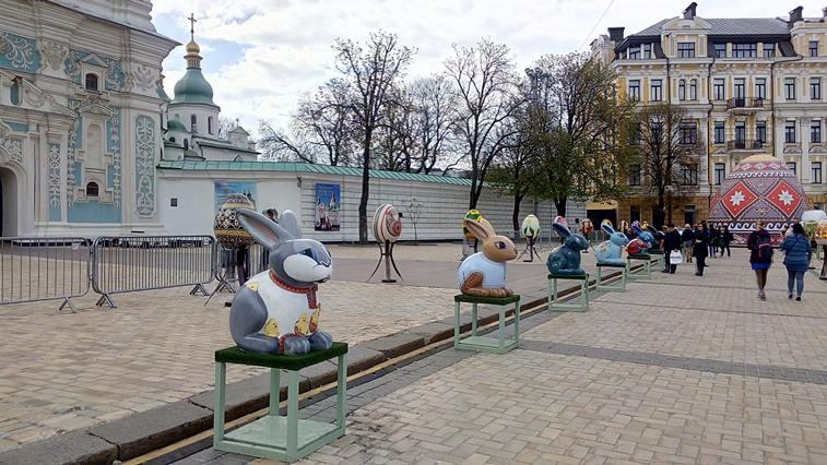 Выставка писанок в Киеве